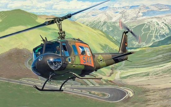 Revell Bell UH-1D SAR makett