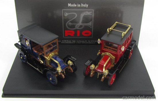 RIO MODELS RENAULT SET - TIPO X + AG 1907