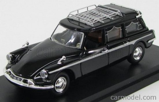 RIO MODELS CITROEN ID19 BREAK 1963 CARRO FUNEBRE - HEARSE - FUNERAL CAR - CON BARA - WITH COFFIN