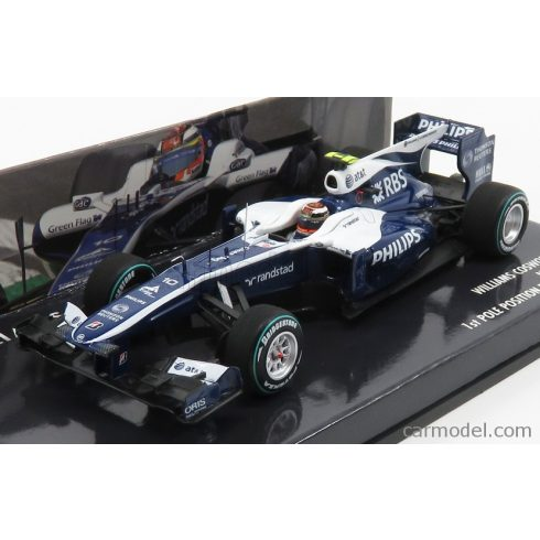 Minichamps Williams F1 FW32 COSWORTH N 10 POLE POSITION BRAZILIAN GP 2010 NICO HULKENBERG