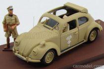 RIO MODELS VOLKSWAGEN BEETLE AFRICA KORPS 1941 - WITH ROMMEL + DRIVER FIGURE