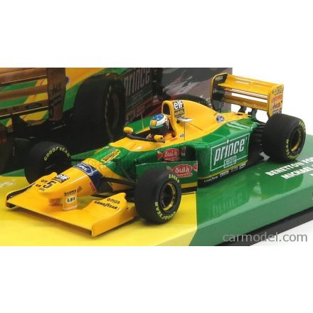 MINICHAMPS BENETTON F1 B193B N 5 MONACO GP 1993 MICHAEL SCHUMACHER