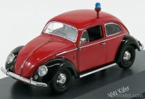 Schuco VOLKSWAGEN BEETLE KAFER FIRE ENGINE BRIGADE 1960