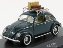 Schuco VOLKSWAGEN BEETLE KAFER 1958 WITH LUGGAGE