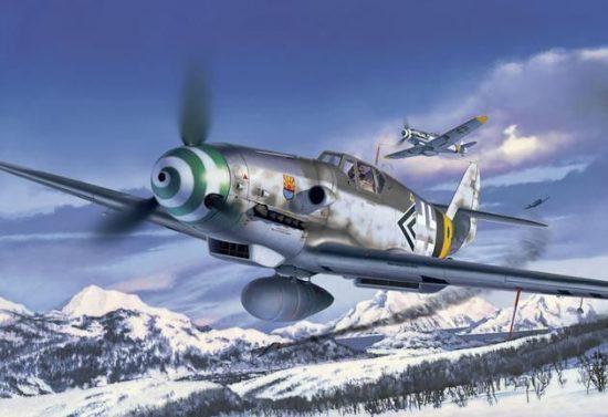 Revell Messerschmitt Bf109 G-6 Late & early version makett