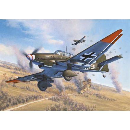 Revell Junkers Ju 87 G/D Tank Buster makett