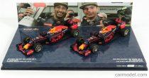 Minichamps RED BULL RACING SET 2X F1 RB12 TAG HEUER N 3 WINNER AND 2nd PLACE N 33 MALAYSIAN GP 2016 D.RICCIARDO - M.VERSTAPPEN