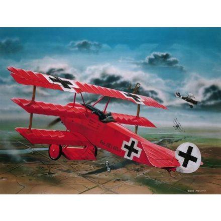 Revell Fokker Dr.1 Richthofen makett