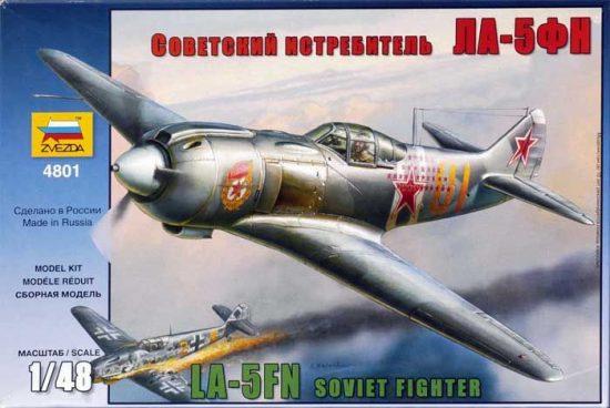 Zvezda La-5FN Soviet Fighter w/interior