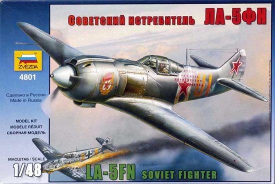 Zvezda La-5FN Soviet Fighter w/interior makett
