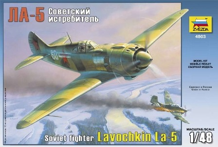 Zvezda La-5 Soviet Fighter makett