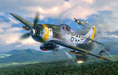 Revell Focke Wulf Fw190 F-8 makett
