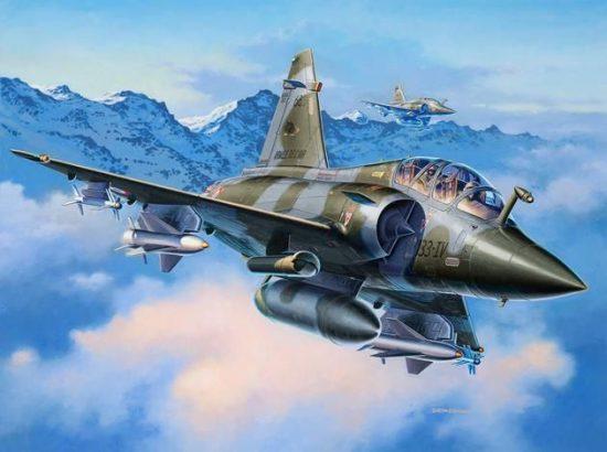 Revell Dassault Mirage 2000D makett