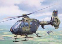 Revell EC135 Heeresflieger German Army Aviation makett