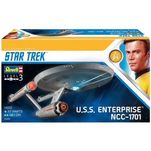 Revell Star Trek - USS Enterprise NCC-1701 makett