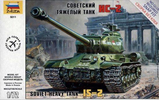 Zvezda IS-2 Stalin makett