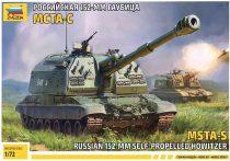 Zvezda MSTA-S Russian 152mm Self Propelled Howitzer makett