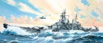 Revell Battleship U.S.S. Missouri makett