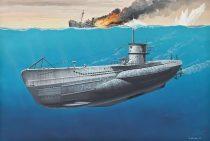 Revell Deutsches U-Boot TYPE VII C makett