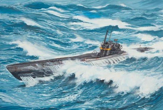 Revell U-Boot Typ VIIC41 makett