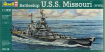 Revell Battleship U.S.S. Missouri(WWII) makett