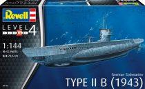 Revell German Submarine Type IIB (1943) makett