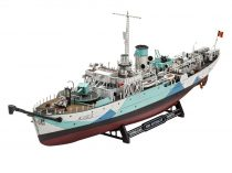Revell Flower Class Corvette HMS BUTTERCUP makett