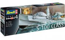 Revell German Fast Attack Craft S-100 Class makett