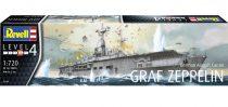 Revell Graf Zeppelin German Aircraft carrier makett