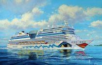 Revell Cruiser Ship AIDAblu, AIDAsol, AIDAmar, AIDAstella makett
