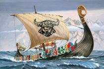 Revell Viking Ship makett