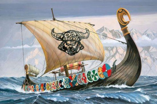 Revell Viking Ship makett