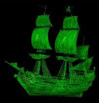 Revell Ghost Ship makett