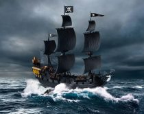 Revell Black Pearl Pirate Ship makett