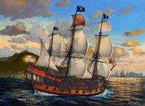 Revell Pirate Ship makett