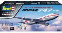 Revell Boeing 747-100 50th Anniversary Gift set makett