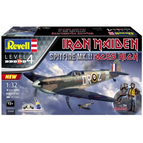 Revell Supermarine Spitfire Mk.II 'Iron Maiden' Gift Set makett
