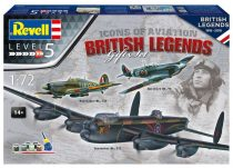 Revell 100 Years RAF - British Legends Gift Set makett