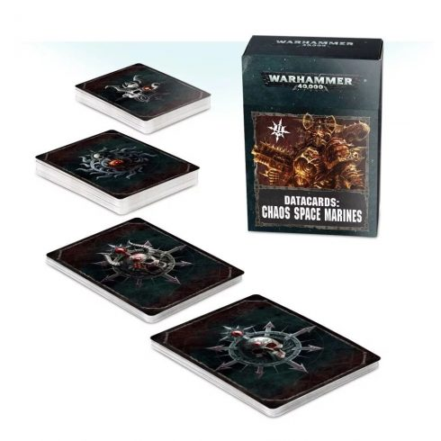 Games Workshop - Datacards: Chaos Space Marines