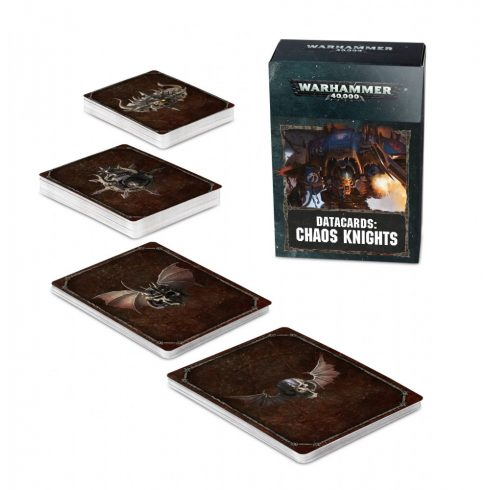 Games Workshop - Datacards: Chaos Knights
