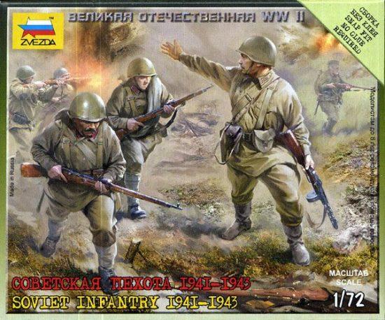 Zvezda Sovielt Infantry 1941
