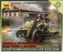 Zvezda Soviet Gun 45mm