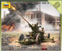 Zvezda Soviet 37mm AA Gun Type 61 makett