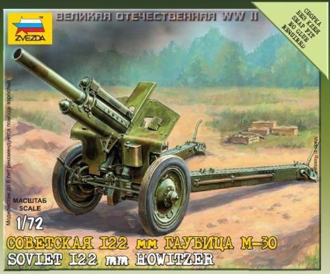 Zvezda Soviet M-30 Howitzer makett