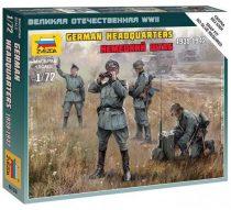 Zvezda WWII German HQ Staff
