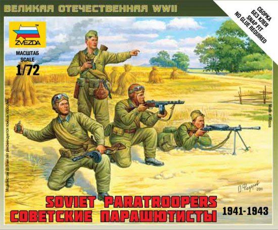 Zvezda Soviet Paratroops