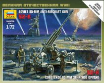Zvezda Soviet 85mm Anti-Aircraft Gun makett