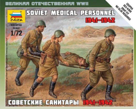 Zvezda Soviet Medical Personnel 41-42