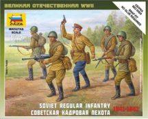 Zvezda Soviet Regular Infantry 1941-42