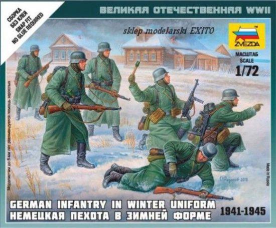 Zvezda German Infantry (Winter Uniform)